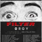 Orgy hits the road with Filter on the
